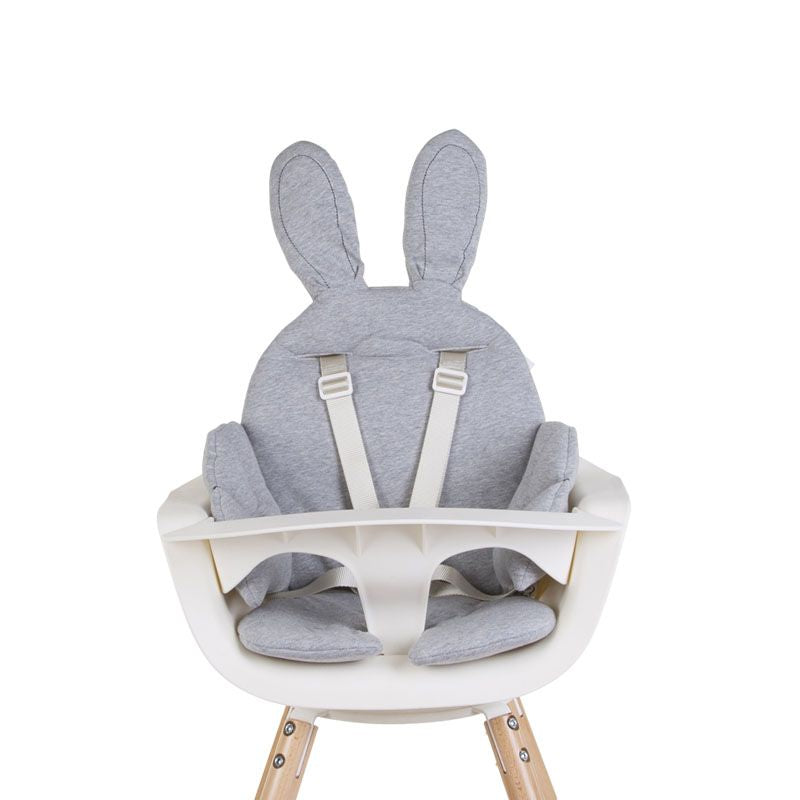 Childhome Evolu Rabbit Cushion Grey