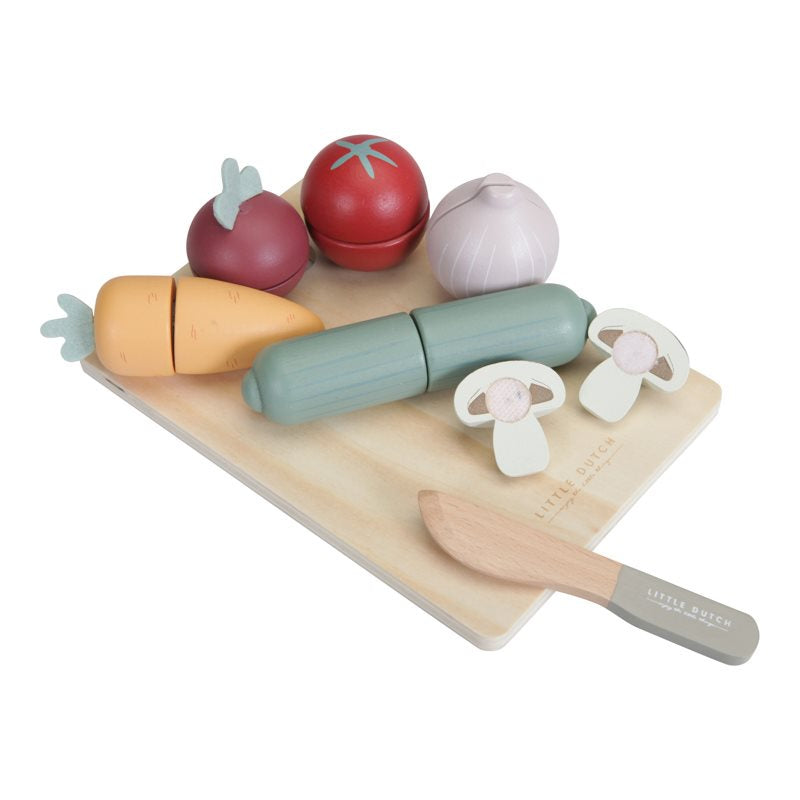 LD Wooden Cutting Vegetables