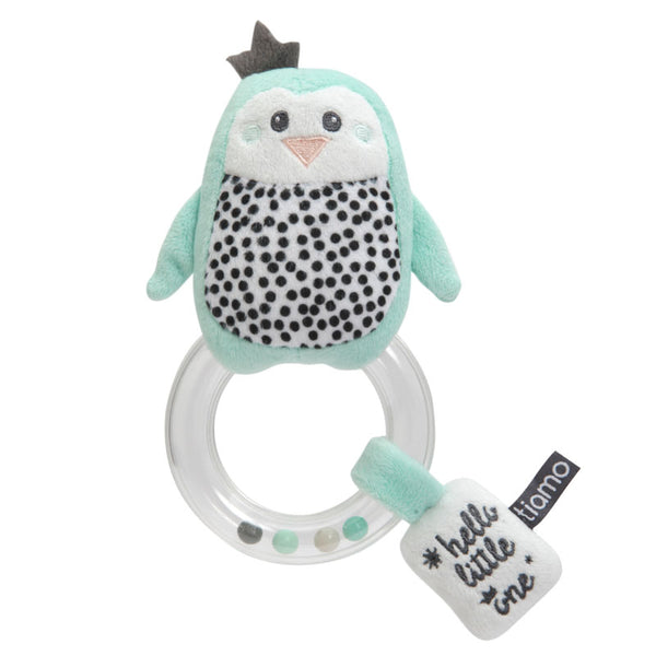 Tiamo Ring Rattle  'Hello Little One'