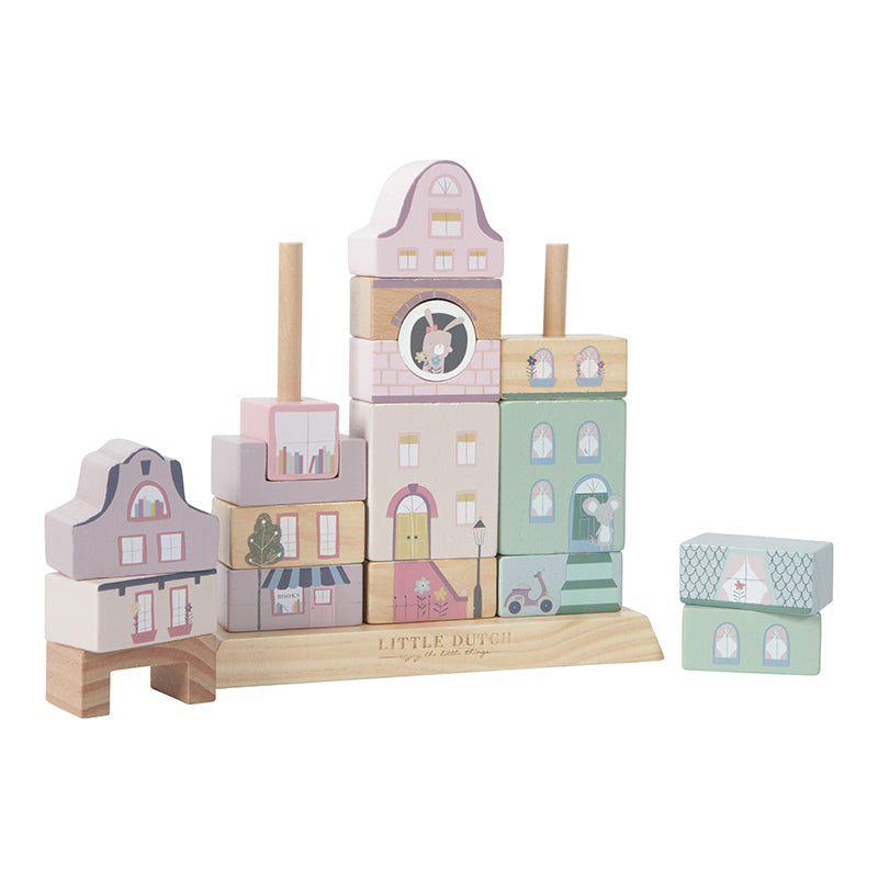 LD Toy Building Blocks Houses Little Adventure