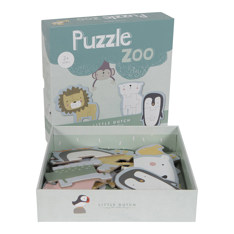 LD Animal Zoo Puzzle - 6 Pcs