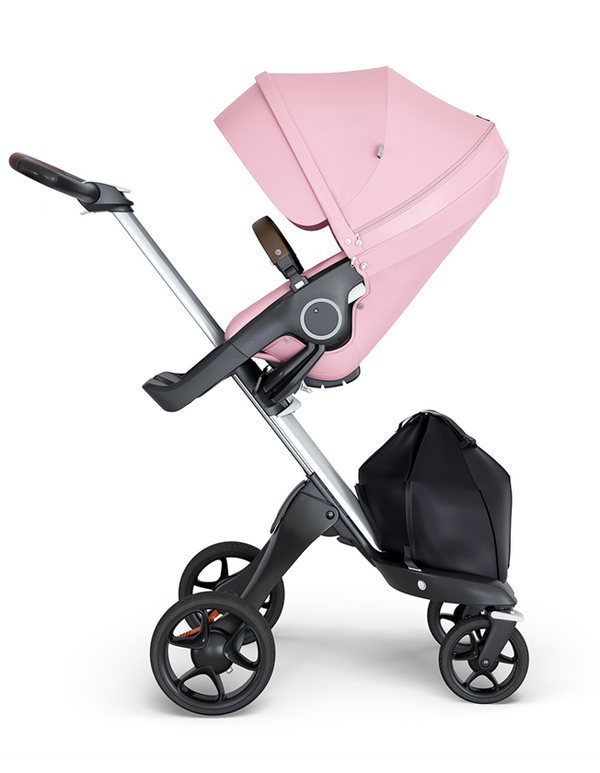 Stokke Xplory 2018 V6 Stroller Silver Chassis from