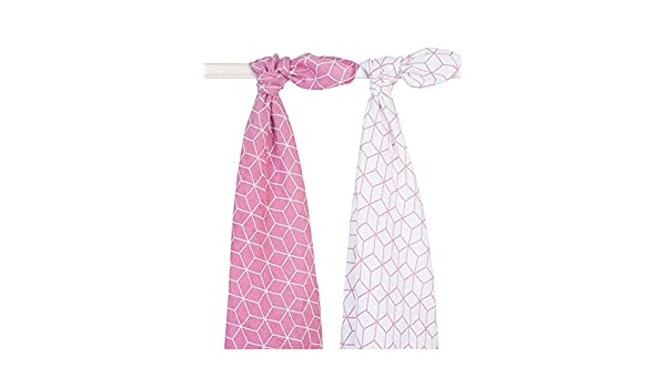 Swaddle 2 Pack Jollein 115 x115 cm