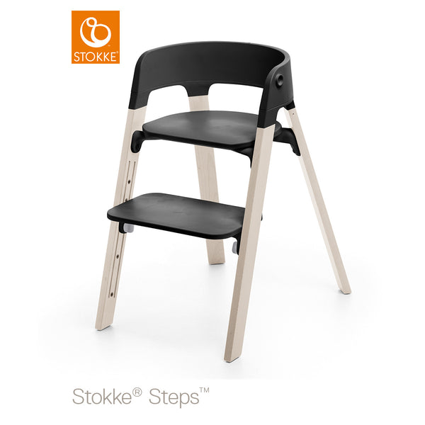 Stokke Steps Chair Black Seat