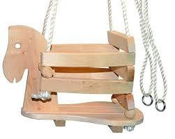 Wooden Swing Rocking Horse