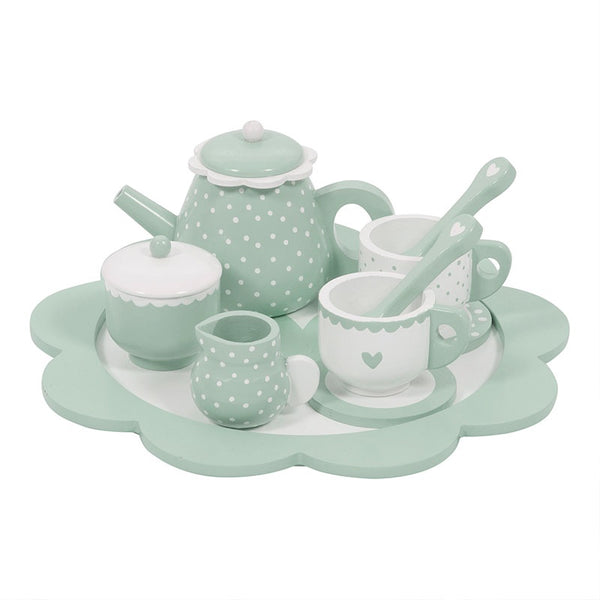 LD Toy Wooden Tea Set
