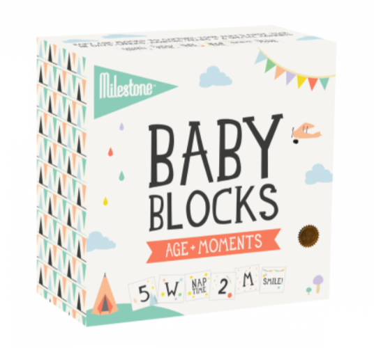 Baby Age + Moment Blocks