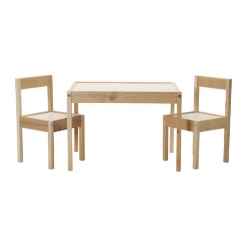 Kiddie Set Table & Chairs Latt