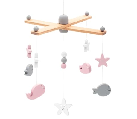 Mobile Sea Animals Pink