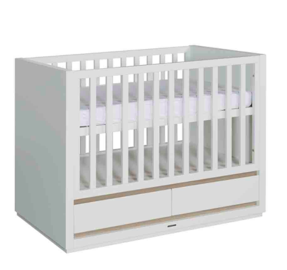 Accent Cot 120x60 with Drawer