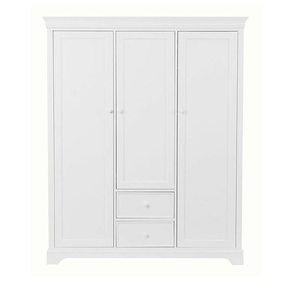 Marseille wardrobe 3 doors 2 drawers
