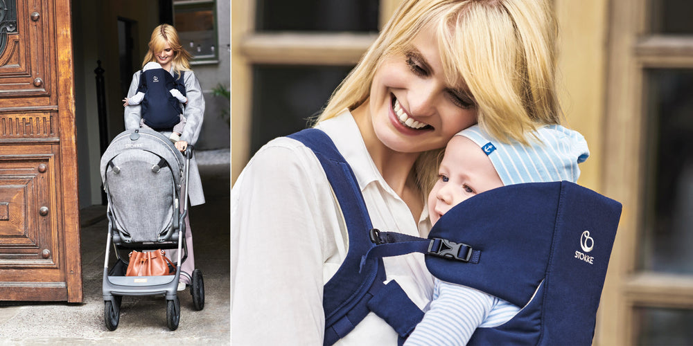 Stokke My Carrier Front & Back