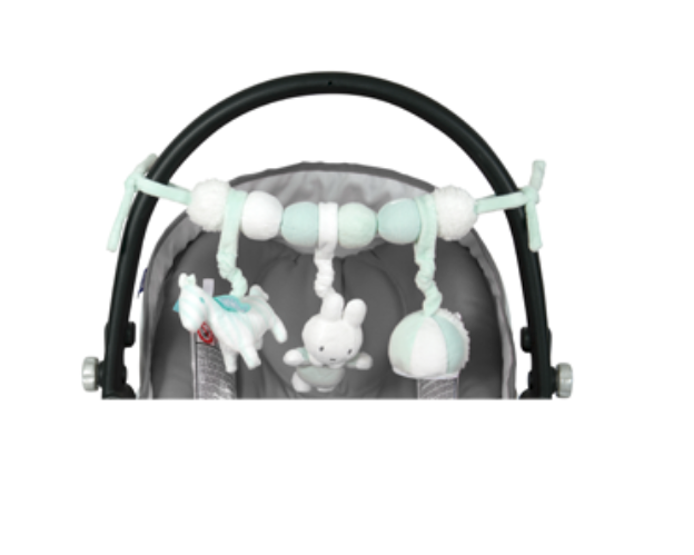Miffy carseat toy