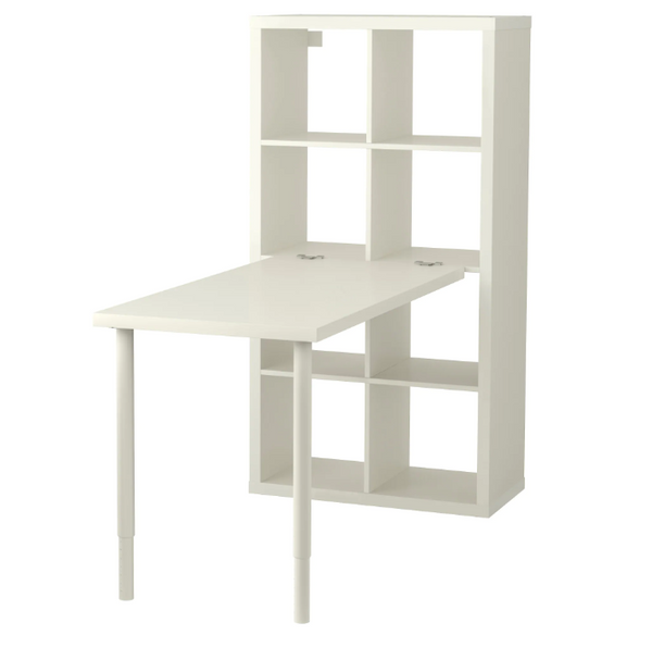 Kallax Bookcase with desk