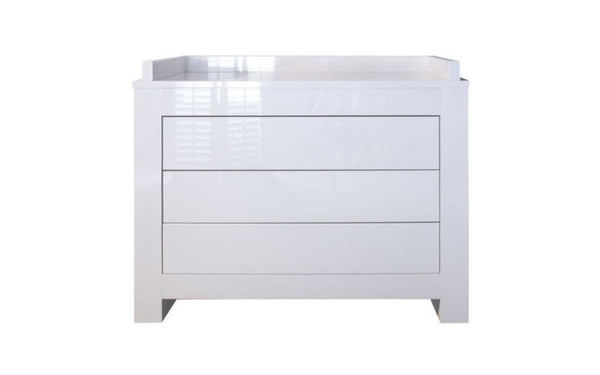 Somero White Glossy Chest