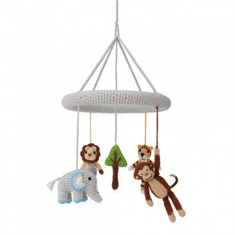 Toy Mobile Cot Crochet