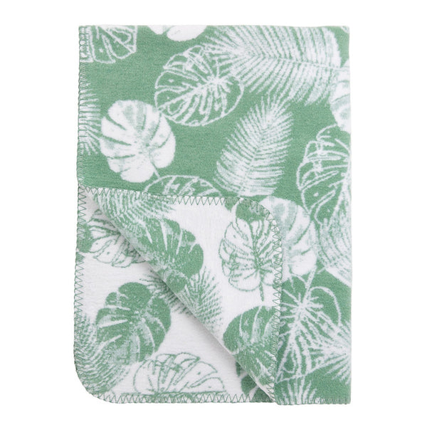 Blanket Tropical Leaves