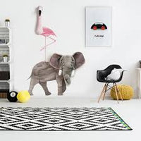 Wall Trophy Elephant