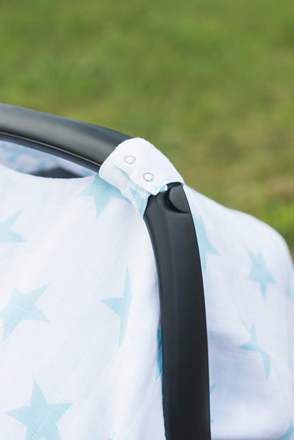 Car Seat Muslin Blanket / Cover