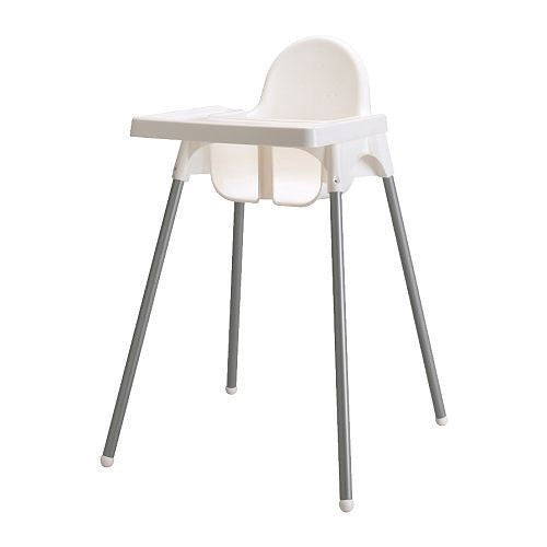 High Chair White Antilop with Tray – Kids Living (Pty) Ltd