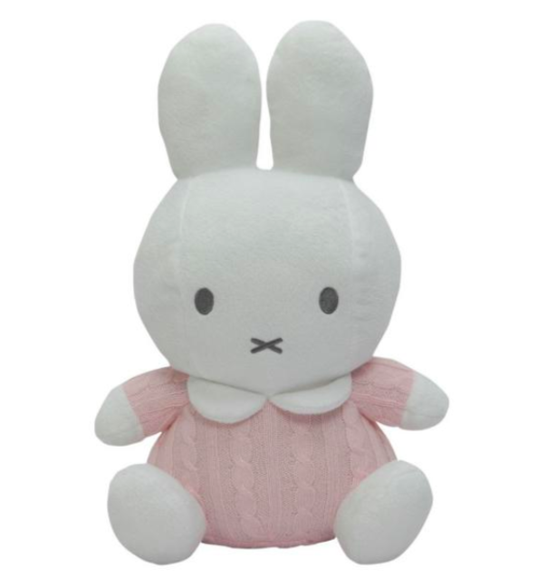 Tiamo Miffy Pluche Knitted Toy 40 cm