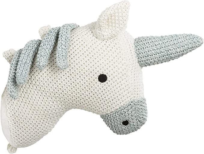 Knitted Wall Trophy Unicorn