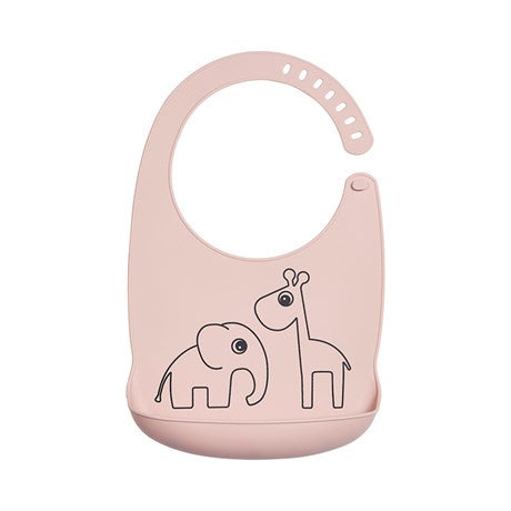 Silicone Bib Deer Friends