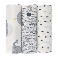 Heavenly soft Swaddle Large 3 pack