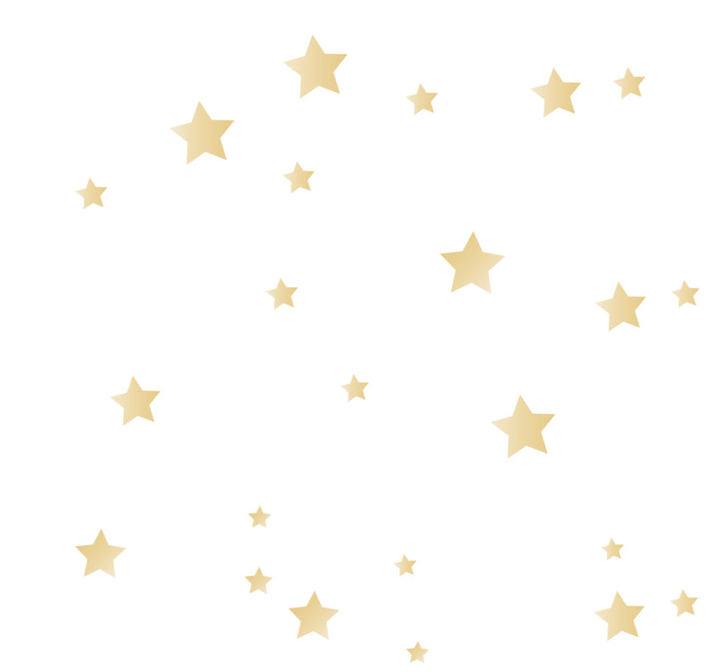 Wall Sticker Bear/Moon Stars