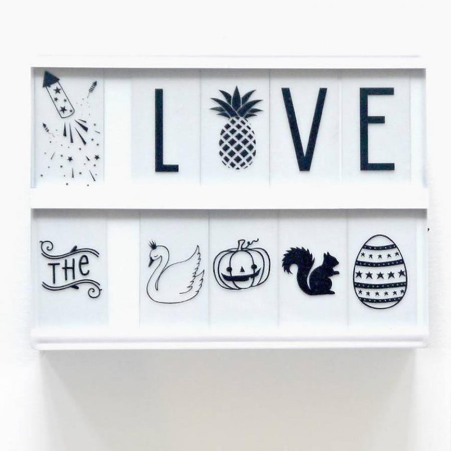 Light Box Letter Pack & Symbols