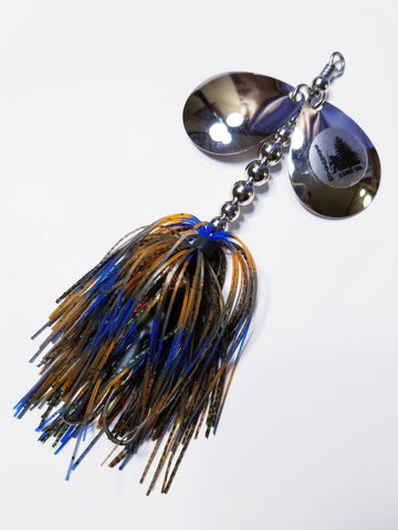 "Bass Double6 ""Bluegill"" In-line Spinnerbait: Pike, Bass"