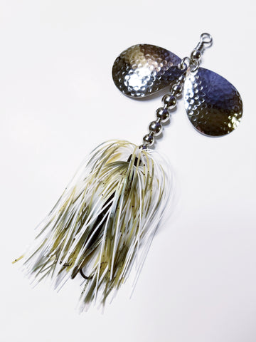 "Bass Double6 ""Baby Bass"" In-line Spinnerbait: Pike, Bass"