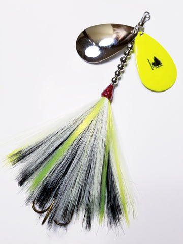 'Magic Mike' Double9 Squatch, Muskie/Pike Bucktail