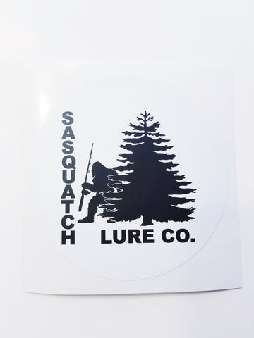 Sasquatch Lure Company Decal