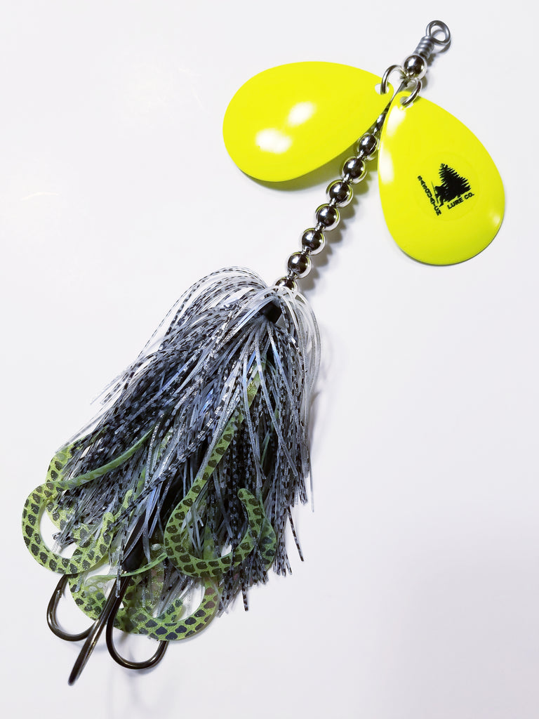 Silicone Double8: Pike/Muskie Bucktail