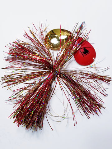 Double8 Tinsel 'Short Snort', Muskie/Pike Bucktail