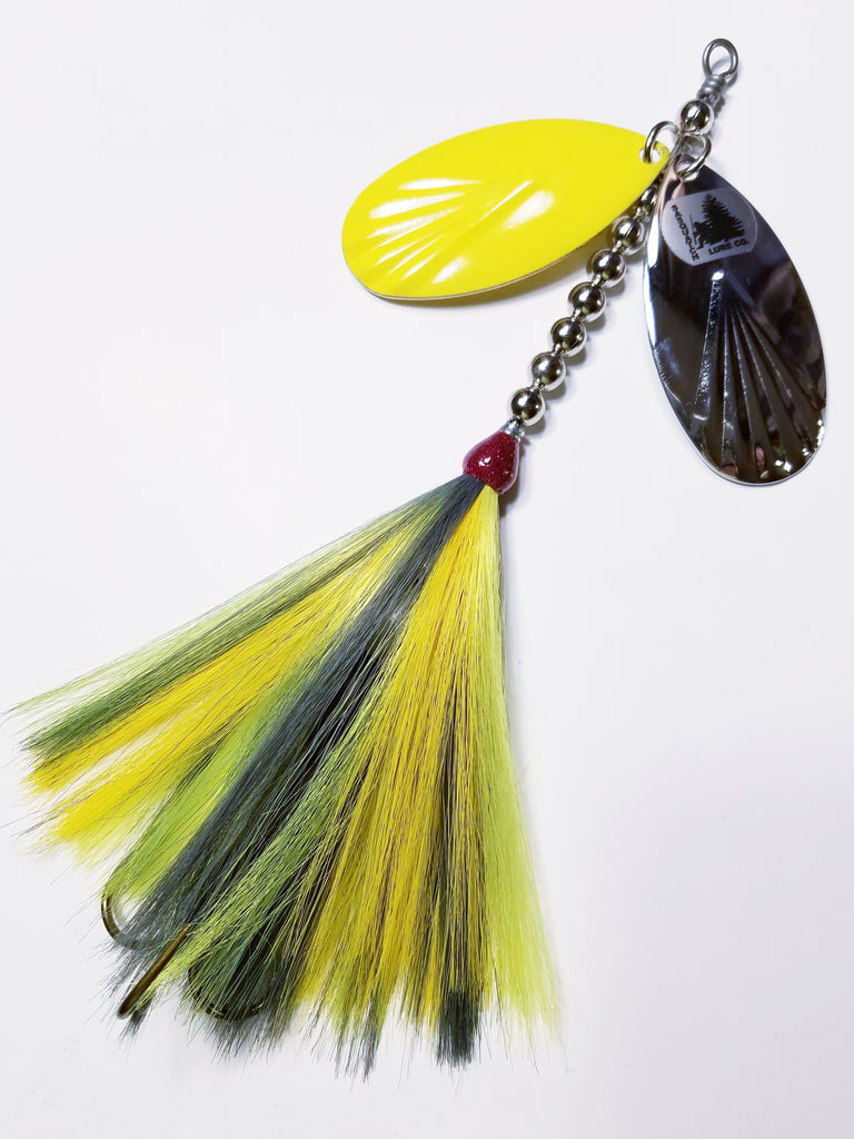 Double9 Fluted 'Cousin Yeti', Muskie/Pike Bucktail