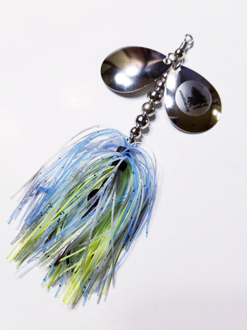 Bass Double6 'Sexy Shad' In-line Spinnerbait: Pike, Bass