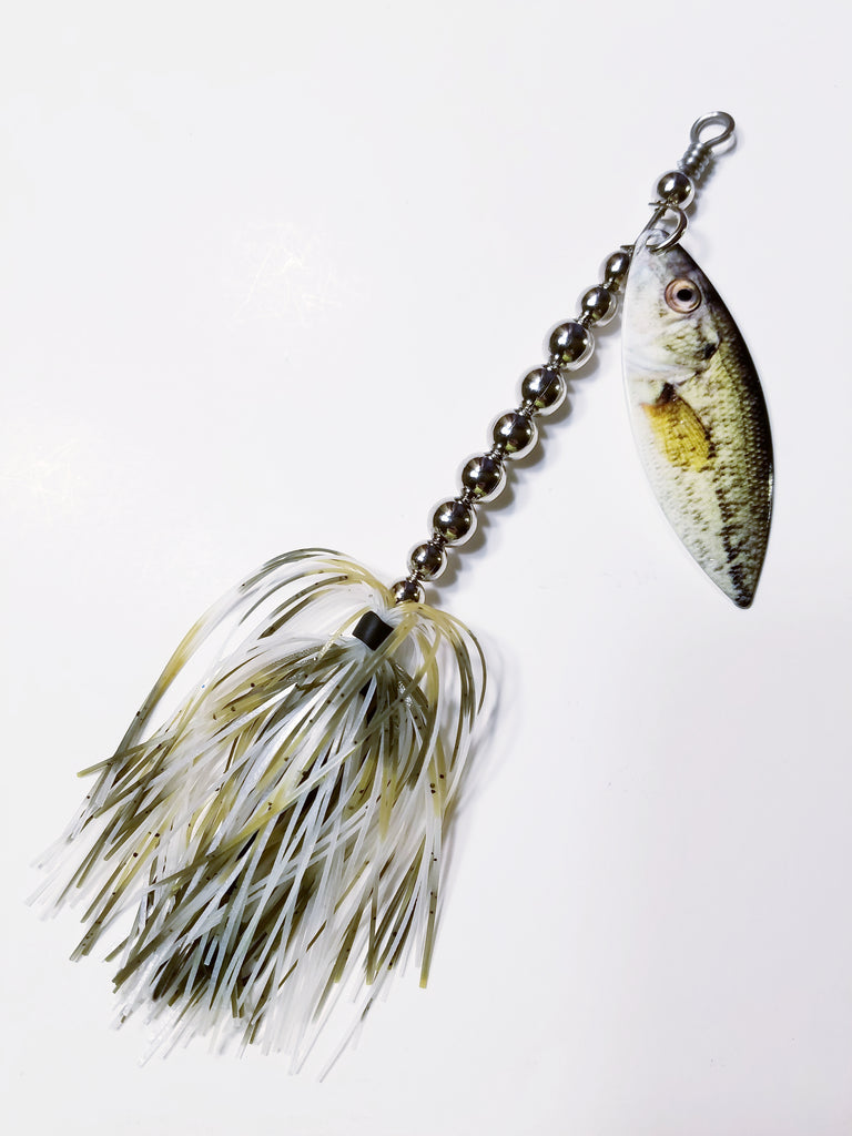 "Regular Single Printed Willow Blade Spinnerbait ""Baby Bass"": Bass, Pike"