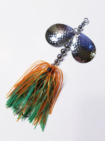 Bass Double6 In-line Spinnerbait: Pike, Bass
