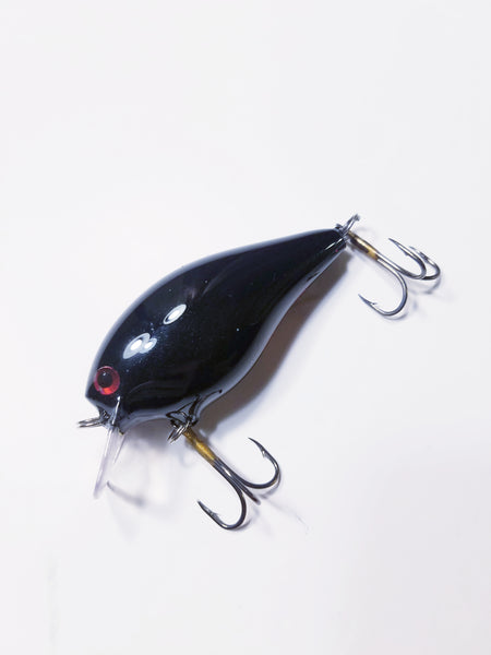 Candyman Custom Painted 2.5 Square Bill Bass Crankbait
