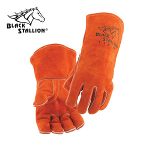 Black Stallion Select Shoulder Split Cowhide Welding Glove - Medium-ShopWeldingSupplies.com