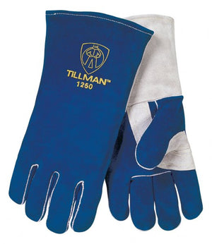 "Tillman 1250 14"" Premium Side Split Stick Welding Gloves-ShopWeldingSupplies.com"