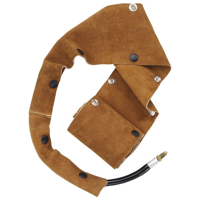 Revco Split Cowhide Cable Cover with Snap Closure, 1.75