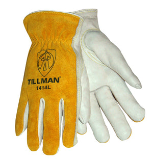 Tillman 1414 Pearl Cowhide Work/Drivers Gloves-ShopWeldingSupplies.com