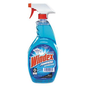 Windex 32OZ Powerized Industrial Window Cleaner (1 Case, 12 Spray Bottles)-ShopWeldingSupplies.com