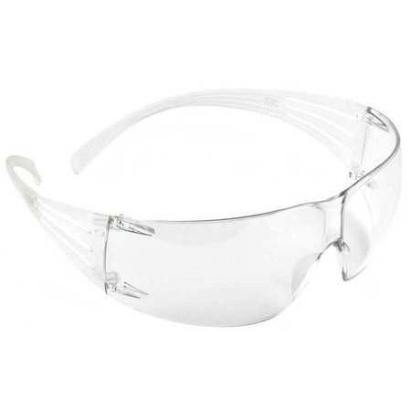 3M SF201AF SECUREFIT 200 ANTI-FOG CLEAR SAFETY GLASSES-ShopWeldingSupplies.com