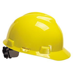 MSA V-Gard® Protective Cap Hard Hat (3 colors available)-ShopWeldingSupplies.com