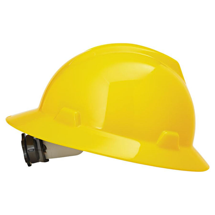 MSA V-Gard® Protective Slotted Hard Hat Cap (Multiple colors are available)