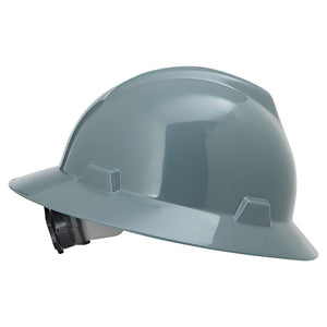 MSA V-Gard® Protective Slotted Hard Hat Cap (Multiple colors are available)-ShopWeldingSupplies.com